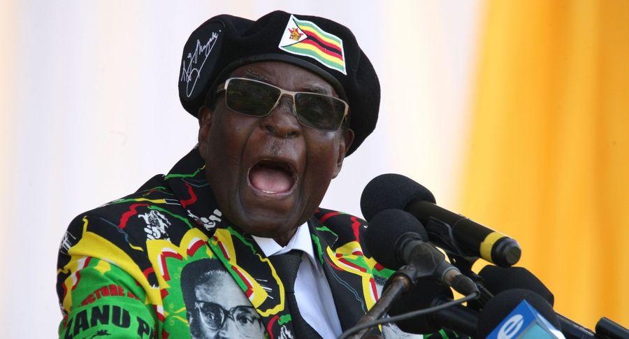 ВЗимбабве военные арестовали президента страны Роберта Мугабе