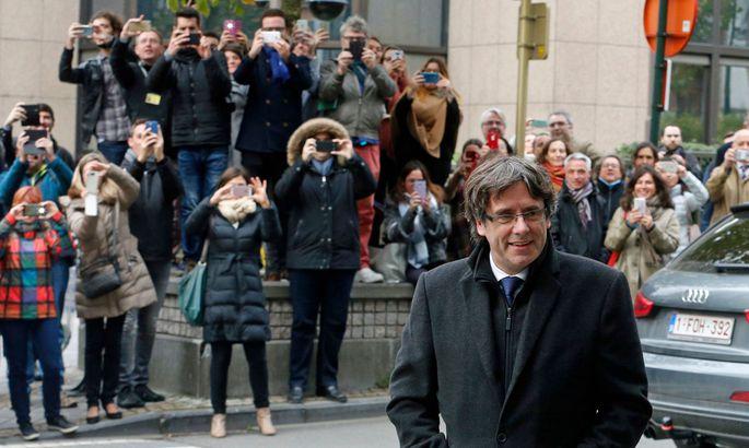 Карлес Пучдемон покинул Финляндию иотправился вБельгию