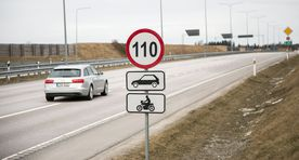 Estonia to raise speed limit to 110 on 133 kms of road this summer