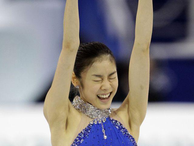 Эта южнокорейская фигуристка, известная также как ким ю на, может похвастаться хорошими спонсорами
