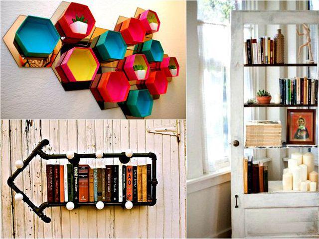 Полки для кухни из подручных материалов фото