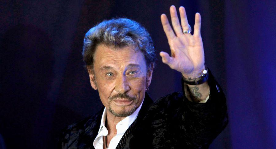 Скончался известный французский рокер Джонни Холлидей