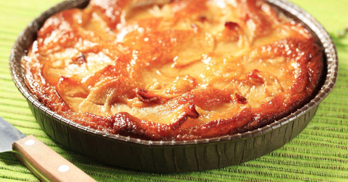 Диетический пирог с яблоками рецепт