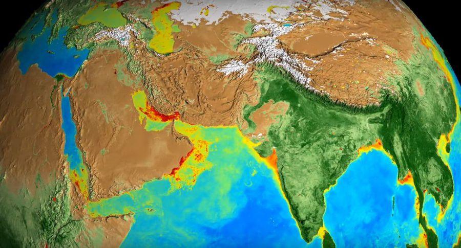 Профессионалы NASA показали, как Земля поменялась за20 лет