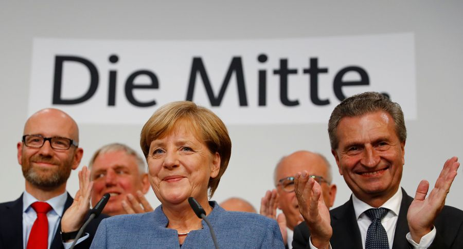 Свободные демократы и«зеленые» очертили условия для коалиции сблоком Меркель