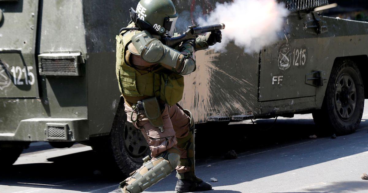 Tšiili võimud pikendasid pealinnas liikumiskeeldu
