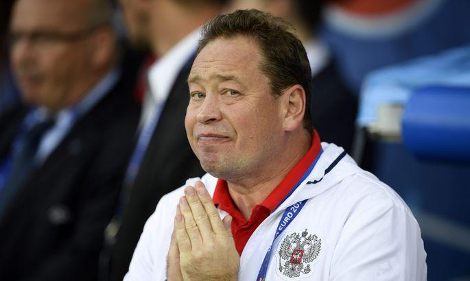 97227a9932e Venemaa peatreener Leonid Slutski pöördus ka kõrgemate jõudude poole