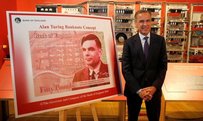 c13908450df Inglise Keskpanga president Mark Carney tutvustas eile uut 50-naelast  kupüüri, millel on kujutatud matemaatikateadlast Alan Turingit.