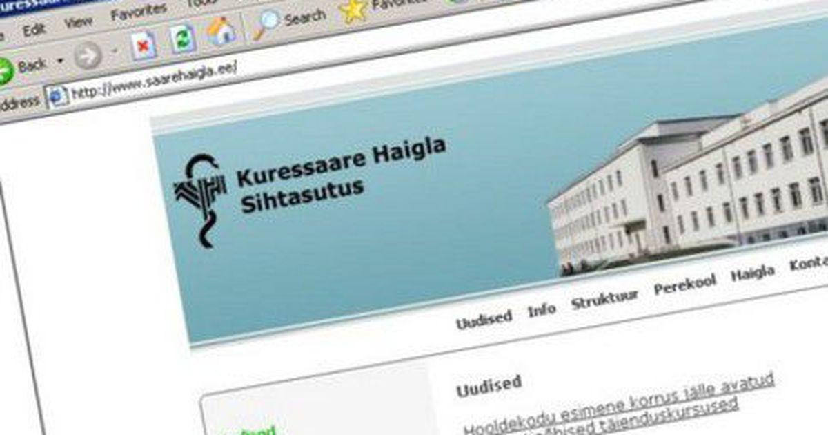 cd6194cdd0d Kuressaare haigla hakkab õdesid koolitama - Uudis.eu