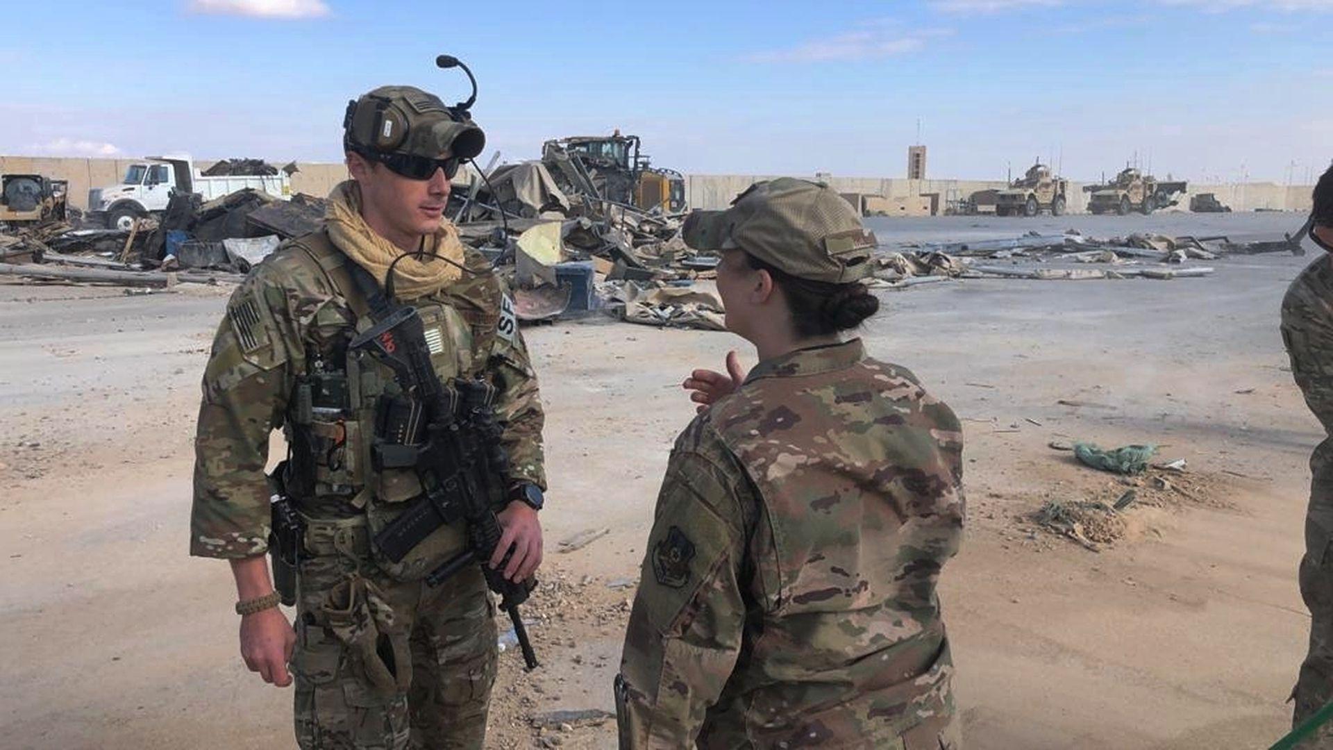 Iraagis hukkus kokkupõrgetes Islamiriigiga kaks USA sõdurit