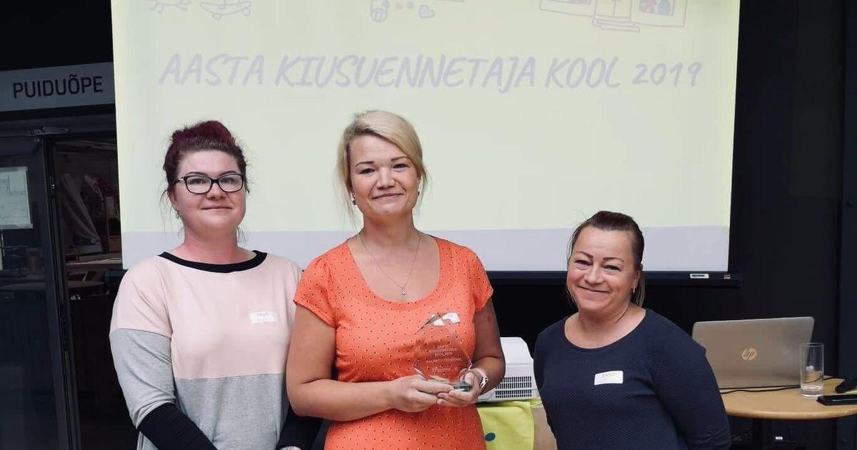 Kalmetu kool sai aasta kiusuennetaja auhinna