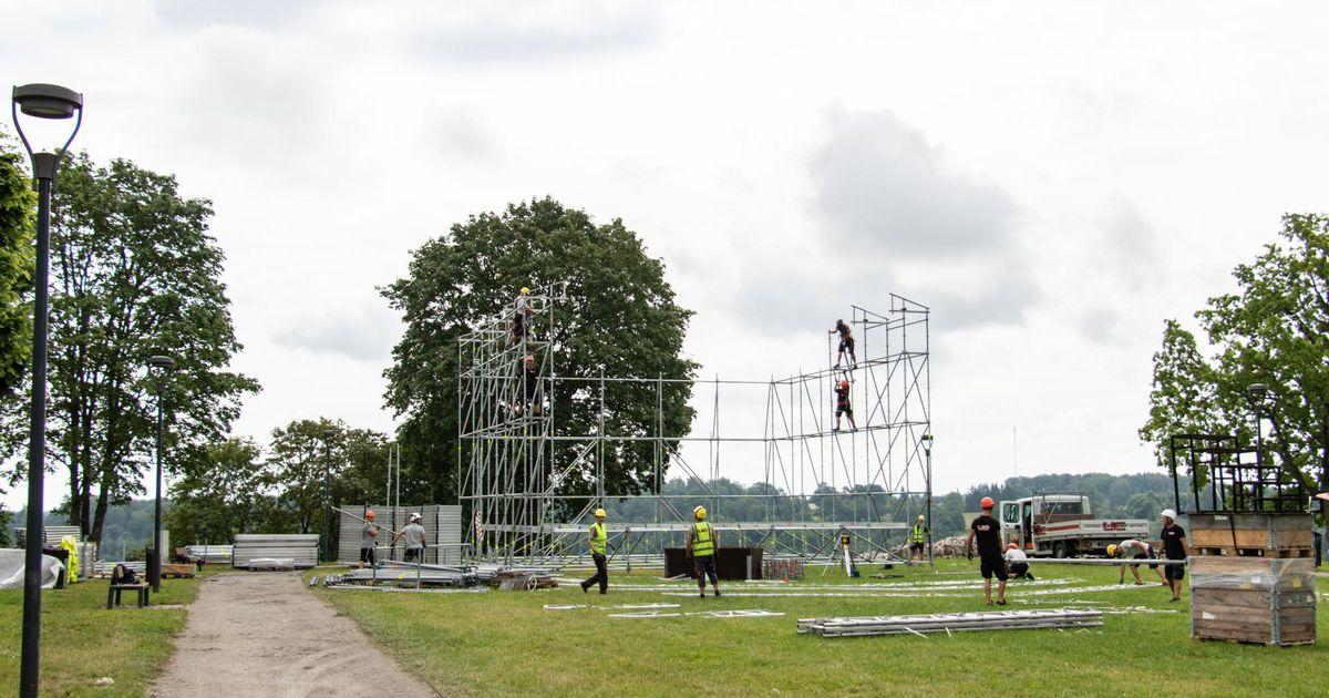 Festivali korraldamine tegijate pilgu läbi