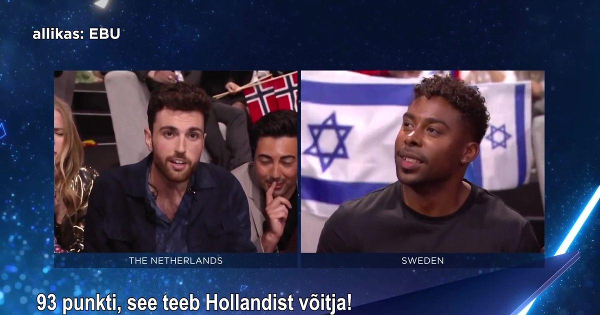 Reporter Eurovisioonil: Holland ootas 44 aastat võitu