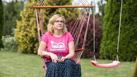 Kristi Peegel asutas diabeeti põdevate laste perekondade toetamiseks Eesti Laste ja Noorte Diabeedi Ühingu.