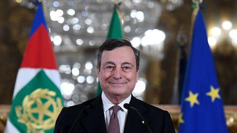 Draghi asus juhtima hädaolukorra valitsust