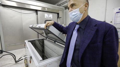 Pfizeri vaktsiini tuleb hoida spetsiaalsetes külmikutes.