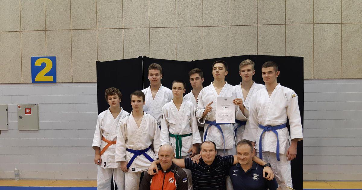 Galerii: judokad võitsid Eesti klubide karikavõistlustelt hõbeda
