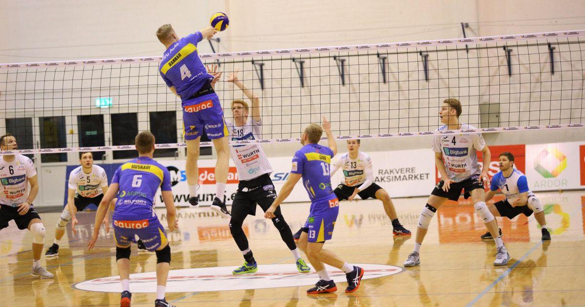 Rakvere ja Saaremaa võrkpallurid alustavad pronksiseeriat