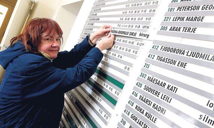 e390e07762d Tartu linna polikliinikus 35 aastat kirurgina töötanud Sirje Pärna-Roopalu  võib suurelt tahvlilt varsti oma nime maha võtta, sest linnapolikliinik ei  jäänud ...
