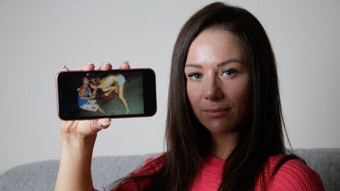 Noor naine on teinud elus pärast ehmatava kaadri nägemist kannapöörde.