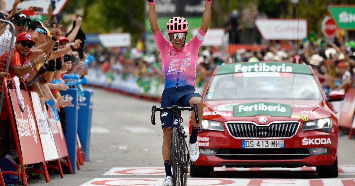 Vuelta 18. etapi võitis Tanel Kangerti meeskonnakaaslane, Quintana kaotas aega