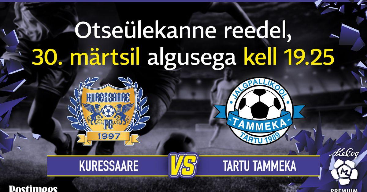 9b1e013ad98 eesti jalgpalli meistriliiga - Postimees Sport: Värsked spordiuudised  Eestist ja välismaalt