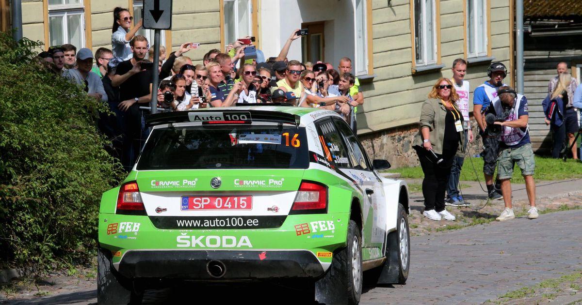Simo Koskinen ja Roland Poom tulid Rally Estonial oma klassis teiseks