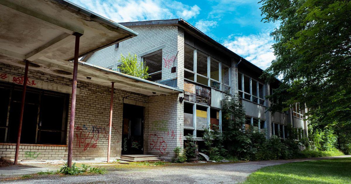 Kergetööstuskooli hoone kaob Sindi linnapildist