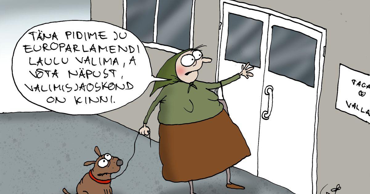 Päeva karikatuur: valikute aeg
