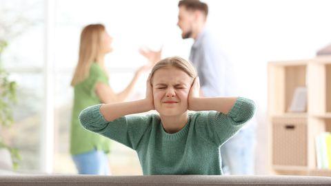 Vanemate sage tülitsemine mõjutab laste vaimset tervist.