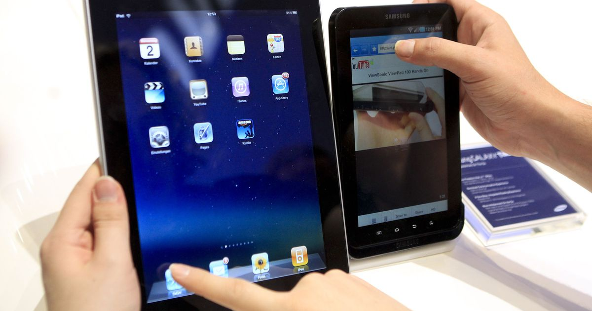 9e986ab3cee Tahvelarvutite müük suurenes aastaga 78 protsenti - Tehnika - Majandus