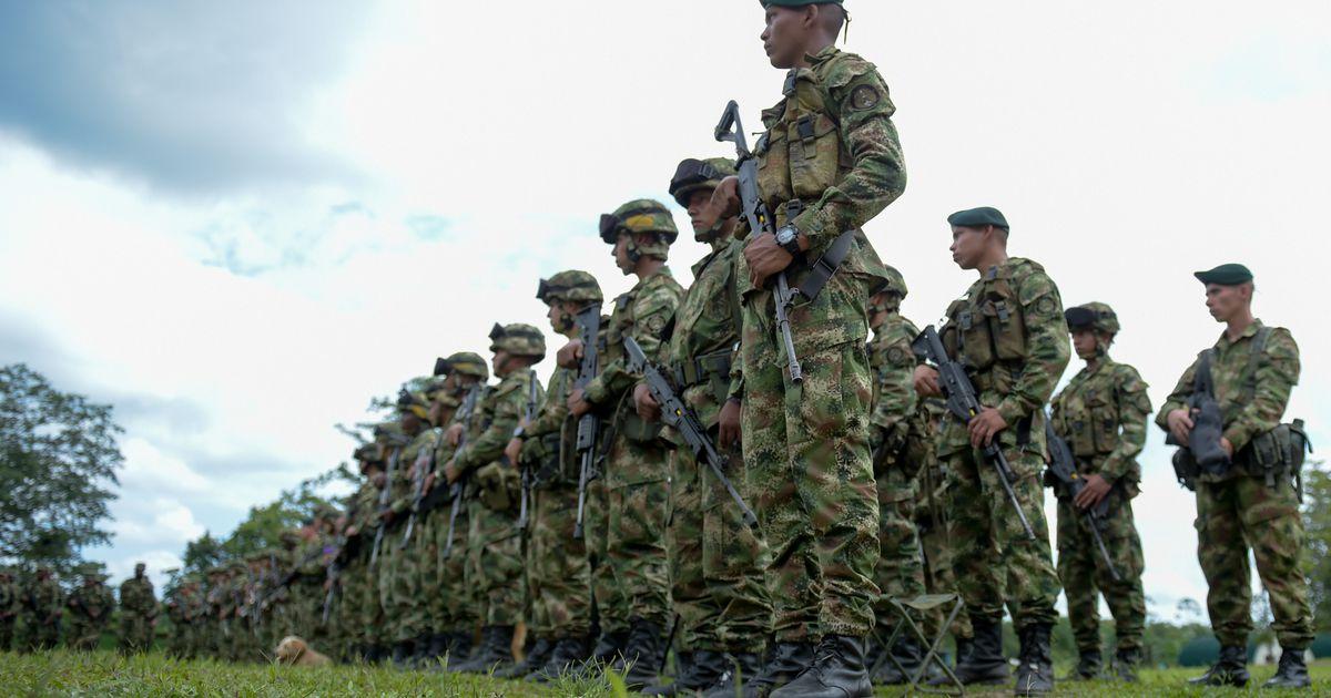 Colombias sai varitsusrünakus surma neli sõjaväelast