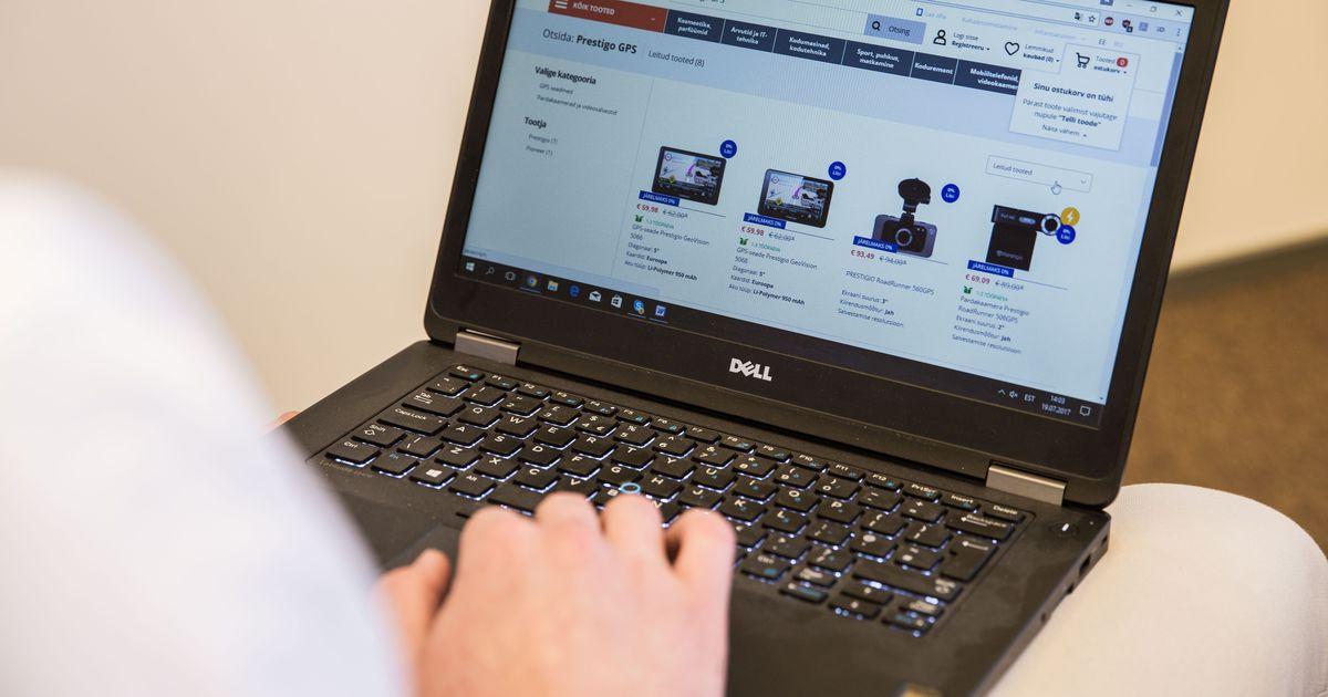 Uuring: e-poed astuvad Eestis kaubanduskeskuste kandadele