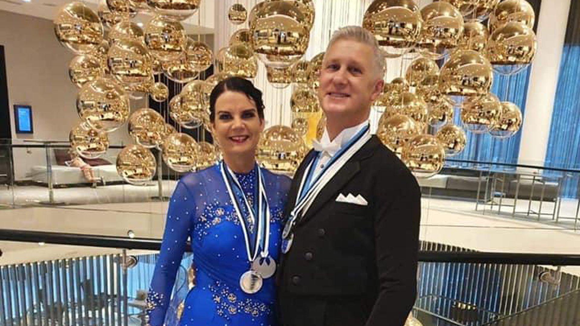 Pärnu tantsupaar tuli Eesti meistrivõistlustel hõbedale