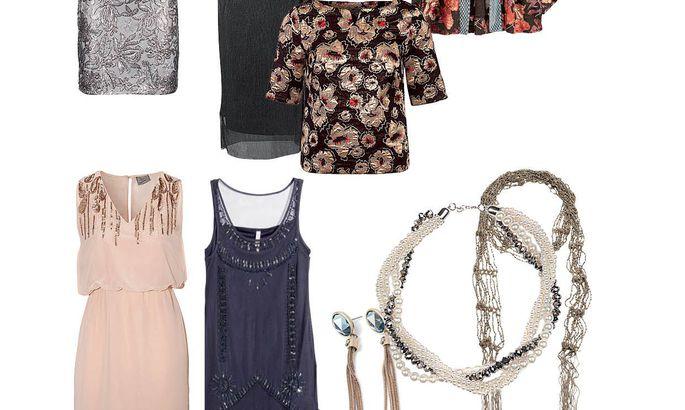 3ce7ccdd508 Valik poeleide - hõbedeläikeline kleit 29,95 eurot, New Yorker; pikk kleit  54,95 eurot, Halens; oriendimustrites keep 59,99 eurot, H&M; dekooriga  pluus 99 ...