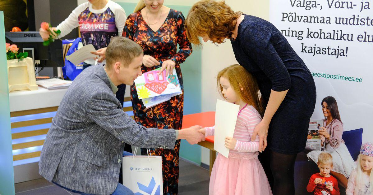 5824564f395 Galerii ja video: noored joonistuskonkursi võitjad said auhinnad. Täna  jagati välja auhinnad Lõuna-Eesti Postimehe joonistuskonkursi ...