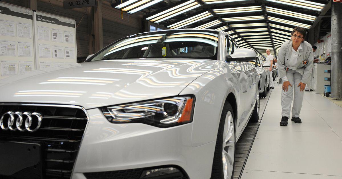 Saksa autotootja Audi koondab 2025. aastaks 9500 töökohta