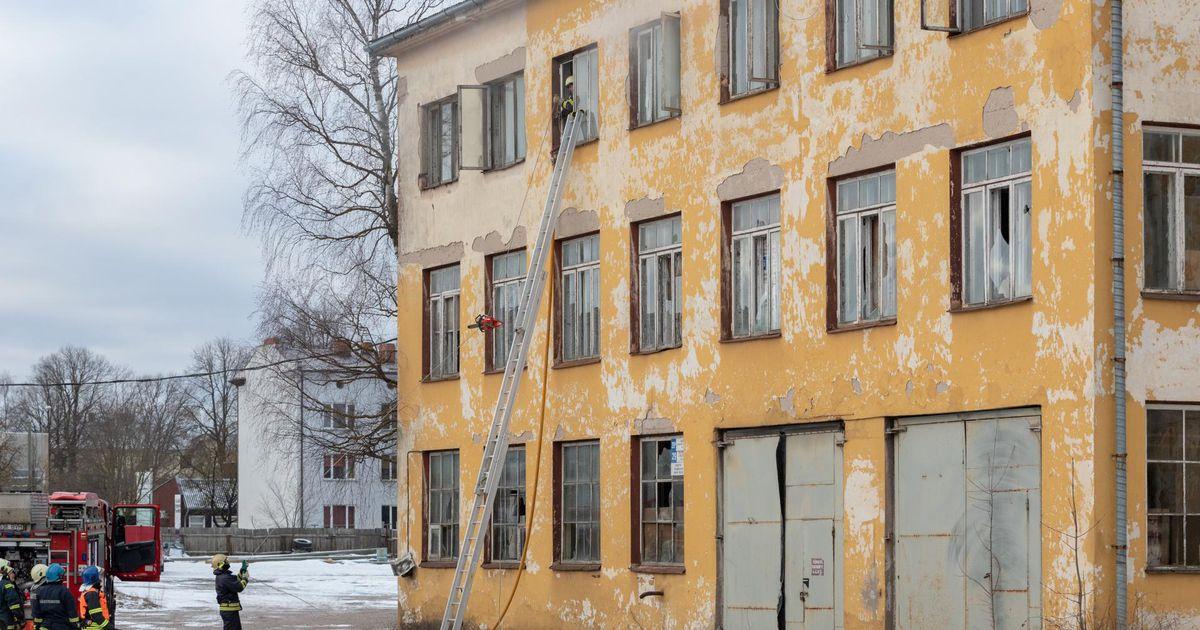Tallinna Kaubamajale kuuluv hoone põles taas