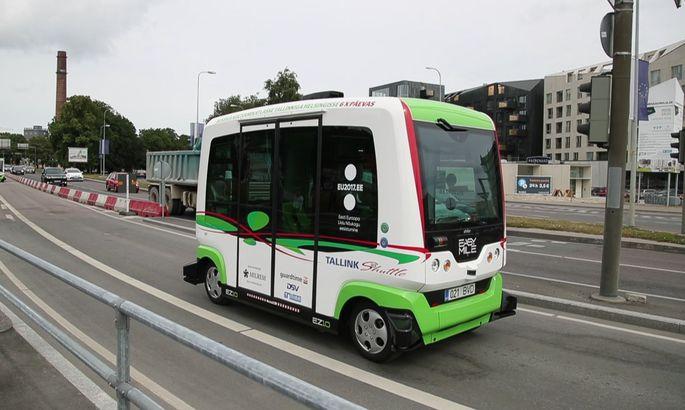 fce236ec228 Driverless buses traveled 1,300 km in month in Tallinn - Estonian news