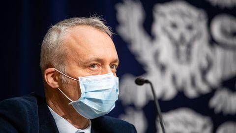 Terviseameti kriisistaabi hädaolukorra meditsiinijuht Urmas Sule