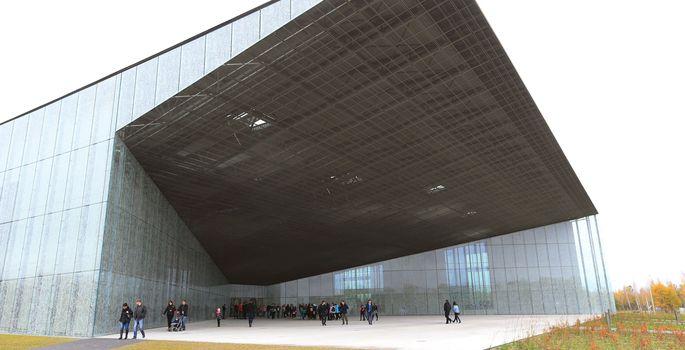 8201fa47d0a 2016. aastal valiti Tartu aasta teoks Eesti Rahva Muuseumi uue hoone  valmimine. | FOTO: Margus Ansu / Postimees