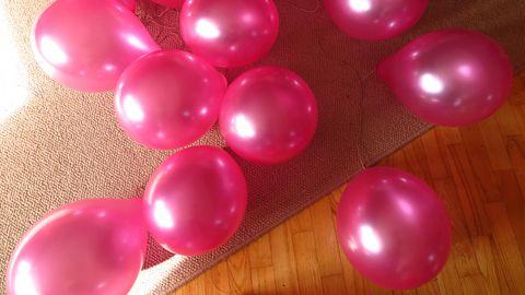 Õhupallid võivad olla ohtlikud.
