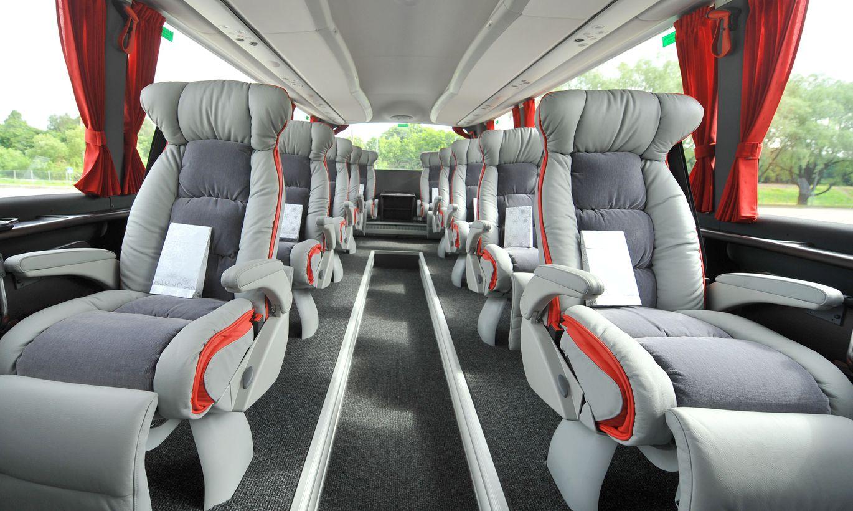класса фото люкс автобус