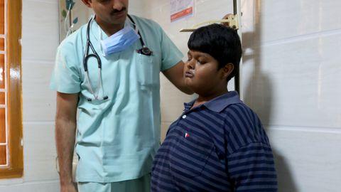 Täna kaalub 16-aastane poiss ligi 80 kg.