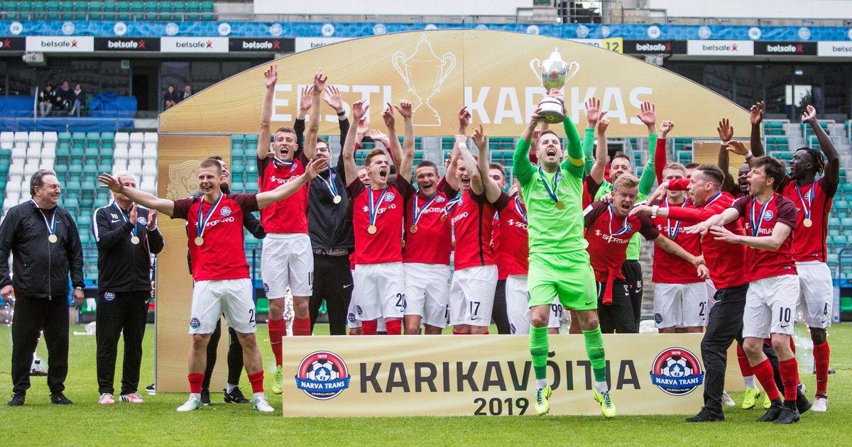 Eesti jalgpallikarikas tuleb 18aastase pausi järel Ida-Virumaale