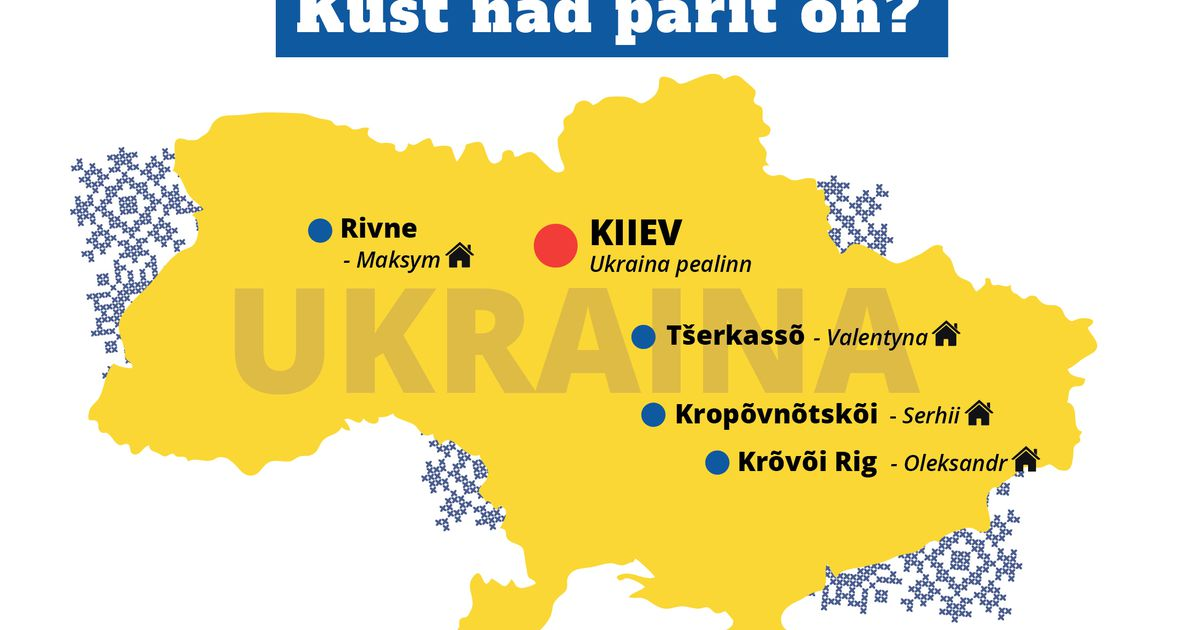 REPORTAAŽ  Ukrainlane teeb tööd hoolega ja nurisemata