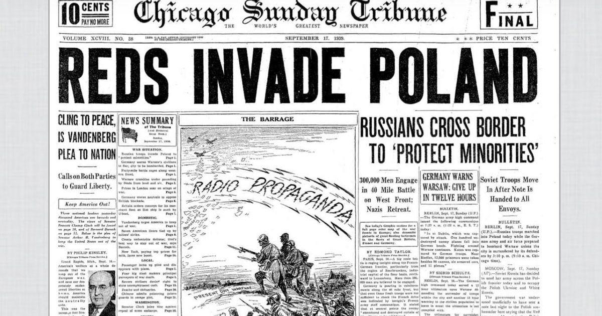 Edward Lucas: ajalugu oleks palju lihtsam, kui Poolat oleks rünnanud üksnes Natsi-Saksamaa