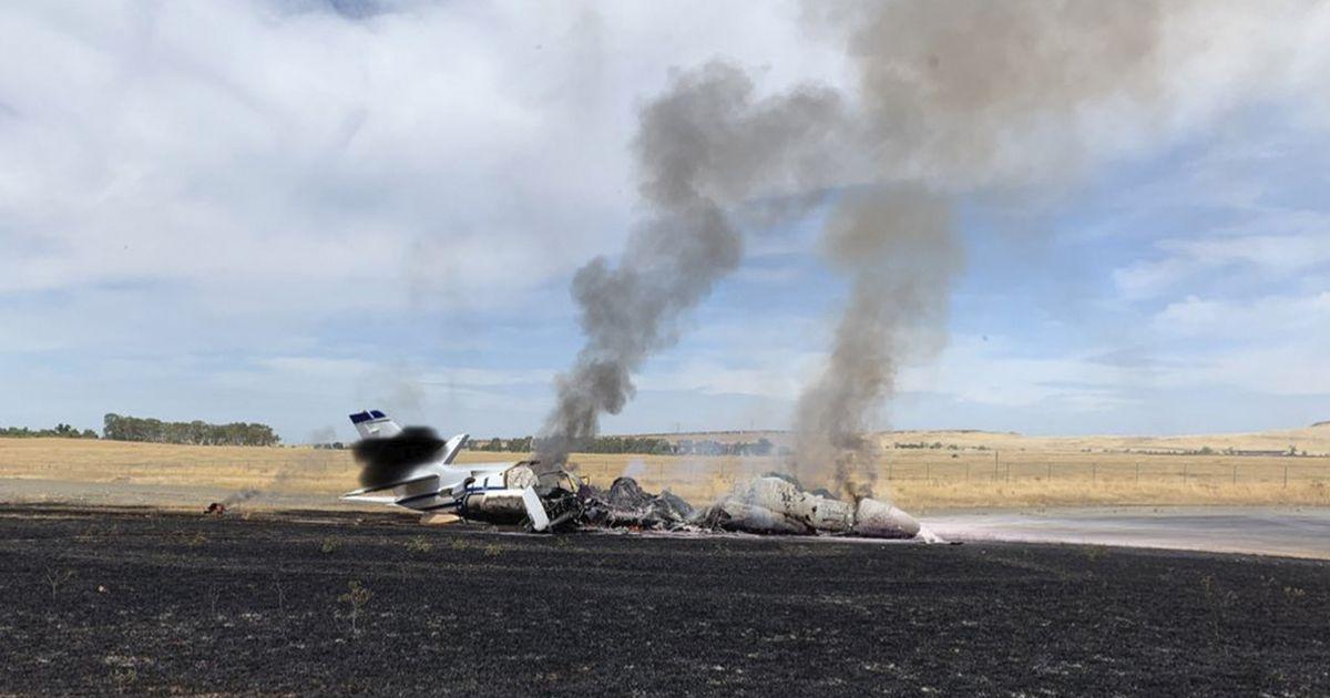 USA-s süttis väikelennuk, pardalolijad pääsesid vigastusteta