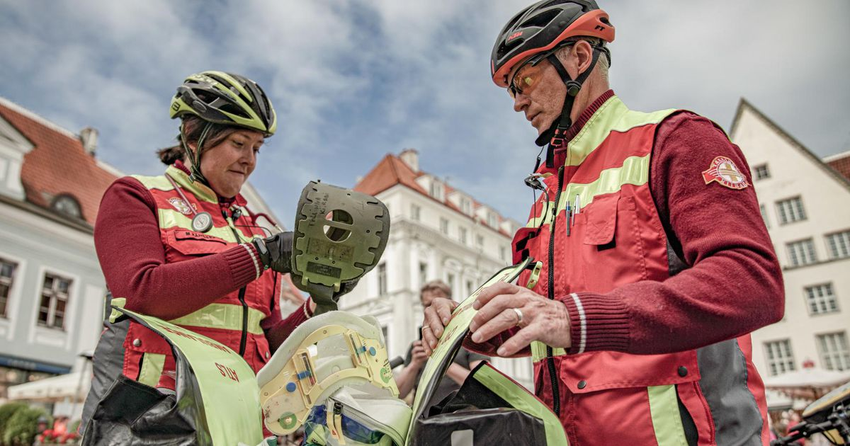 Viimne elulootus vanalinnas: rattabrigaad päästab surma suust