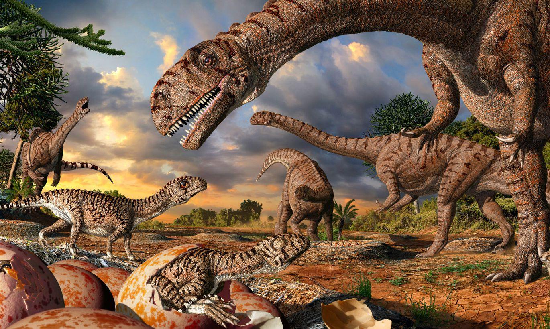Знания о динозаврах картинка